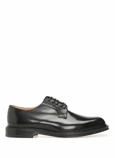 Church's %100 Deri Bağcıklı Klasik Ayakkabı Siyah